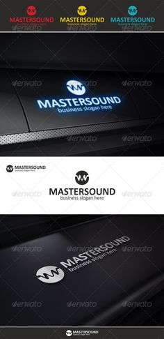 Master Sound – Audio Wave Logo – An excellent logo template highly suitable for music, entertainment and audio technology businesses.  Clean, professional and elegant logo suitable for music industry, audio engineering, recording studio, sound technology or any other business related.