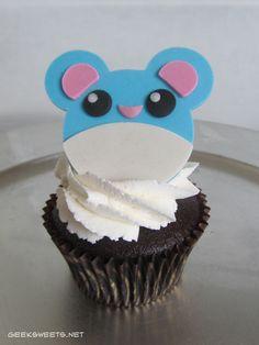 Marill Cupcake, Pokémon