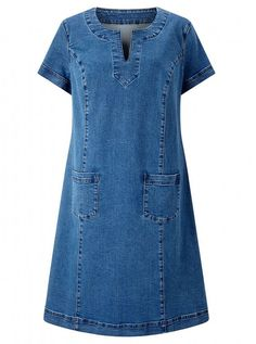 Dress, East vestidos Casual Clothing To Update Your Weekend Wardrobe Fashion Wear, Fashion Dresses, Preppy Trends, Dress Outfits, Casual Dresses, Maxi Dresses, Denim Dresses, Shift Dresses, Stylish Outfits