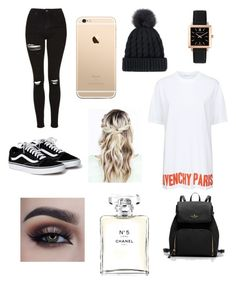 """""""Who cares???"""" by robbieandhunter on Polyvore featuring Larsson & Jennings, Givenchy and Chanel"""
