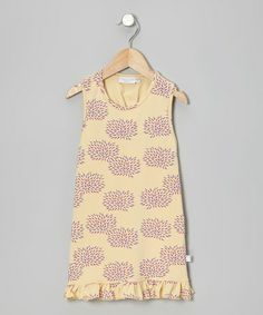 Loving this Yellow Floral Tunic- Toddler & Girls on #zulily! #zulilyfinds