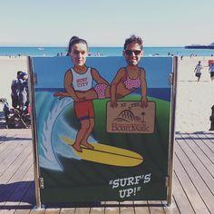 Santa Cruz CA: Surfs up. #santacruz #california #boardwalk #photobooth #beach by padhamdy