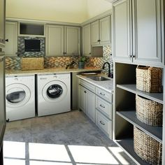 laundry rooms 32 Enchanting Mudroom Ideas