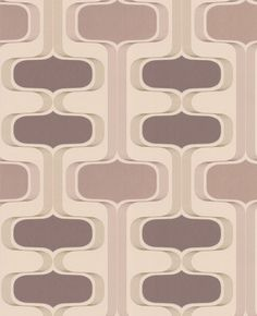 Groovy Retro Wallpaper - Brown $25  (Bookcase)    An ultra modern design with a real retro vibe.  width: 20.5in roll length: 32.8ft  pattern repeat: 12.6in  design match: Straight  design style: Geometric  application: Paste the Wall  substrate: Non-Woven paper  washability: Extra Washable  brand: Contour  collection: Contour Anti-Bacterial  primary color: Mocha,Chocolate
