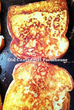 Old Centennial Farmhouse: Farmhouse Diner: Perfect French Toast - thanks for sharing, Joni!