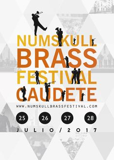 Poster for Numskull Brass Festival 2017