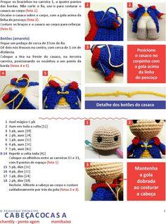 Crochet Patterns Amigurumi, Amigurumi Doll, Crochet Dolls, Crochet Crafts, Crochet Projects, Fox Pattern, Chrochet, Diy Doll, Crochet Animals