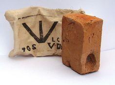 Tasmanian LaTrobe Valley Convict Thumb Print Brick North West Tasmania Display