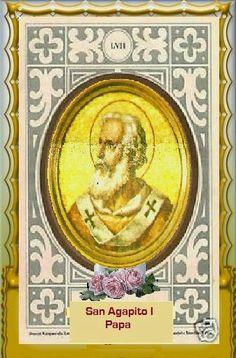 IMAGENES RELIGIOSAS: San Agapito I-Papa