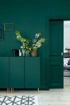 Vert émeraude intérieur