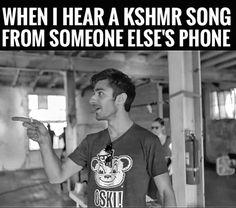 then i find a new best friend #kshmr  #kshmrfam  #memes  #gracethekshmrfan