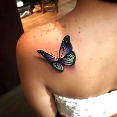 110 Small Butterfly Tattoos with Images is part of Small Butterfly Tattoos With Images Piercings Models - Meaning of butterfly tattoos and pictures of cute and small Butterfly Tattoo designs and images for on the wrist, shoulder, foot or lower back Butterfly Tattoo On Shoulder, Butterfly Tattoos For Women, Small Butterfly Tattoo, Butterfly Tattoo Designs, Shoulder Tattoos, Tattoo Designs For Women, Butterfly Tattoo Meaning, Butterfly Images, Pretty Tattoos For Women