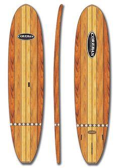 """Coreban Cruiser 11'6"""" Wood Stand Up Paddle Board"""