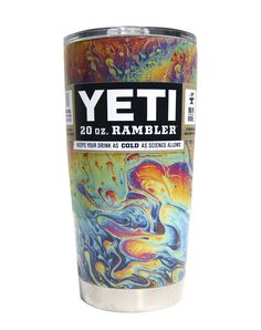 Oil Slick YETI 20 oz Rambler Tumbler