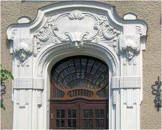 Вариант штукатурного фасада белого цвета в модерна стиле