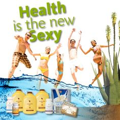 Health is the new sexy! Use aloe to help you get there! #aloeinspire