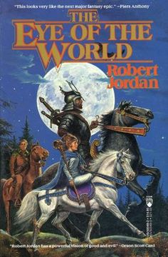 The Wheel of Time series is one of my all time faves. The world is rich and realistic, the characters believable and indepth. I was very sad when Robert Jordan passed away, it felt like the death of my favourite characters as well.