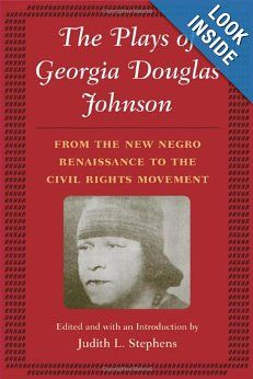 a biography of georgia douglas johnson an american poet A member of the harlem renaissance, georgia douglas johnson wrote plays, a syndicated newspaper column, and four collections of poetry: the heart of a woman (1918), bronze (1922), an autumn love cycle (1928), and share my world (1962)johnson was born in atlanta, georgia, to parents of african american,.