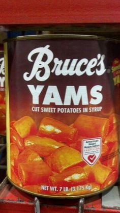 Cut Yams