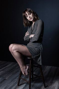 "Dakota Johnson-  ""In my next movie, I'll play a sociopath and I am planning to move. I don't know where yet but Los Angeles is too tight fitting for me right now."""