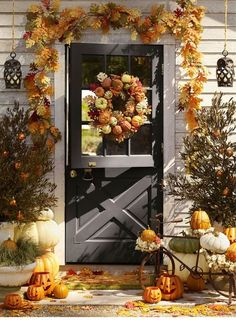 Fall Front Door Décor Ideas
