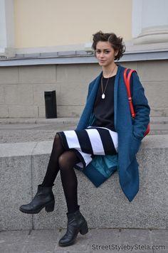 Maria-Migal-Russia-fashion-week street style  #rfw2014 #rfw #streetstyle