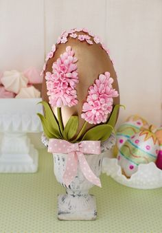 Hyacinth Easter Egg
