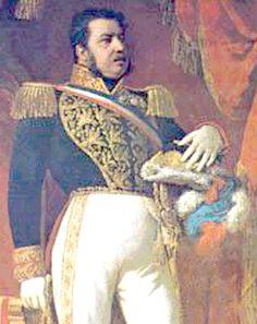 Manuel Bulnes Prieto, 1841 - 1851 Quinto Presidente de Chile Mario, White People, Blue, Story Characters, Santiago, Bicycle Kick, Flags