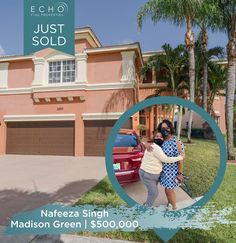 Huge congrats to our super agent Nafeeza Echo Singh on the sale of this super pretty home in Madison Green! Contact Nafeeza with all your Real Estate needs: ☎561.662.4558 ✉️Nafeeza@EchoFineProperties.com #Congratulations #MadisonGreen #Sold #Congrats #Realtor #RealEstate #JustSold #NewHome #Homes #Realty #FloridaRealtor #FloridaRealEstate #HomeSweetHome #SuperAgent Royal Palm Beach, Flo Rida, Congratulations, Sweet Home, New Homes, Real Estate, Pretty, Green, House Beautiful
