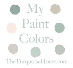 Great combo of paint colors - the perfect gray