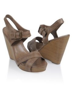i want high heels, but wedges are the best i can do