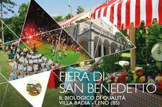 Fiera Di San Benedetto, dal 7 al 10 luglio 2016, stand enogastronomici, erboristeria, cosmesi, artigianato, concerti e spettacoli, degustazioni.