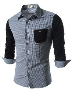 "The ""Marcello"" 2-Toned Dress Shirt – Tattee Boy Clothes"