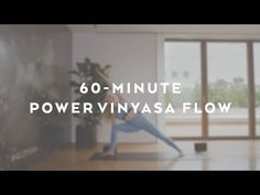 60-Minute Power Vinyasa Flow with Caley Alyssa - YouTube