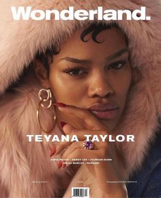 Teyana Taylor covers Wonderland's upcoming winter issue.