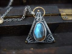 astral projection labradorite pendant by sirenjewels on Etsy