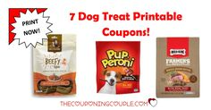Your dog will LOVE you so stock up and Print these 7 Dog Treat Printable Coupons! Pup-Peroni, Rachael Ray Nutrish and Milk-Bone Treats!  Click the link below to get all of the details ► http://www.thecouponingcouple.com/dog-treat-printable-coupons/ #Coupons #Couponing #CouponCommunity  Visit us at http://www.thecouponingcouple.com for more great posts!