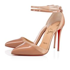 c8cd59b3f002 Christian Louboutin United States Official Online Boutique - Uptown Double  100 Nude Patent Leather available online