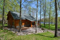 Porch Supports, Wrap Around Deck, Bedroom Loft, Full Bath, Easy Access, Square Feet, Exterior, Fire, Cabin
