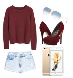 """""""Autumn"""" by chlumblr on Polyvore featuring Ray-Ban, MANGO, Michael Antonio, cute, Beauty and autumn"""