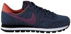 Blauwe Nike Sneakers AIR PEGASUS 83 SUEDE