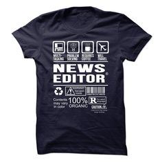 NEWS EDITOR Multi Tasking Problem Solving T-Shirts, Hoodies. SHOPPING NOW ==► https://www.sunfrog.com/No-Category/NEWS-EDITOR--Multi-tasking.html?id=41382