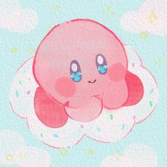 Kirby Nintendo, Video Games, Bunny, Kids Rugs, Artwork, Painting, Videogames, Art, Cute Bunny