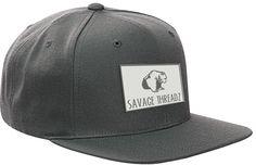Savage Threadz woven  Bear patch Snapback