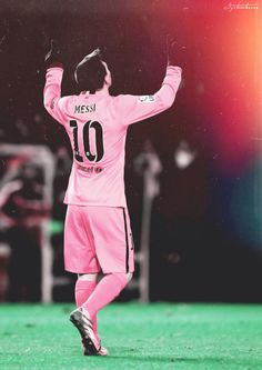- Lionel Messi in Pink, Barcelona