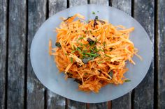 Carrot salads - so bright, so healthy, so simple (and thrifty, too!) Recipes on the blog now