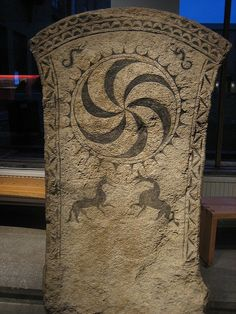 Viking picture stone ~ The Vikings were the Scandinavian seafarers, warriors, and pirates who raided and colonized wide areas of Europe from the to the century. Viking Life, Viking Art, Viking Runes, Viking Woman, Ancient History, Art History, Asian History, Tudor History, British History