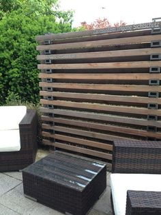 betonmauer mit holzverkleidung garten gartentor pinterest holzverkleidung schalung und. Black Bedroom Furniture Sets. Home Design Ideas