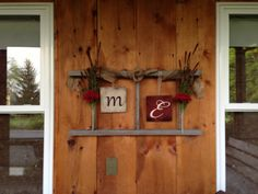 Refurbishing an old barn ladder with a personalized touch