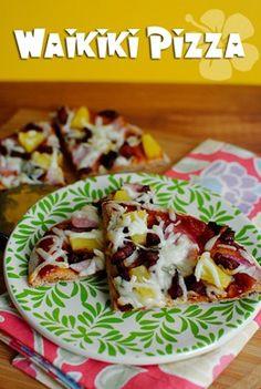 healthy hawaian pizza